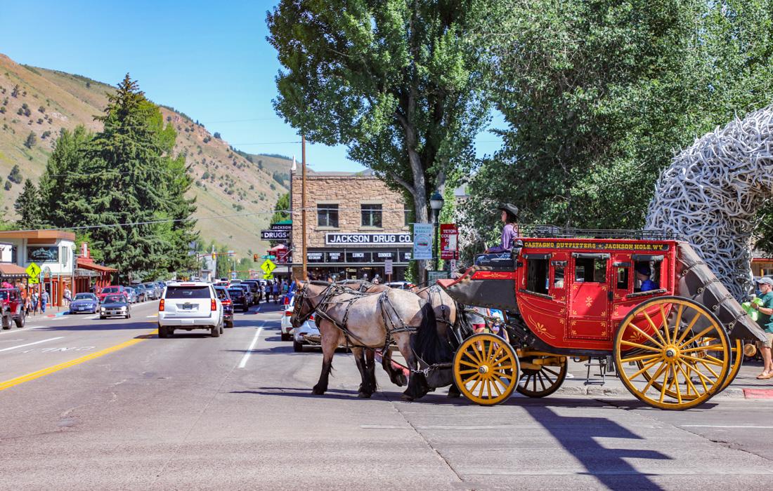 Jackson in Wyoming