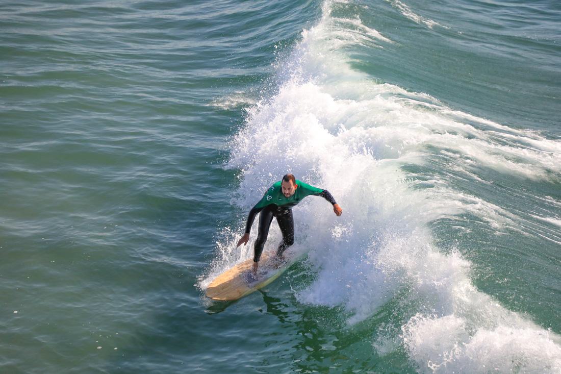surfen bij Venice Beach